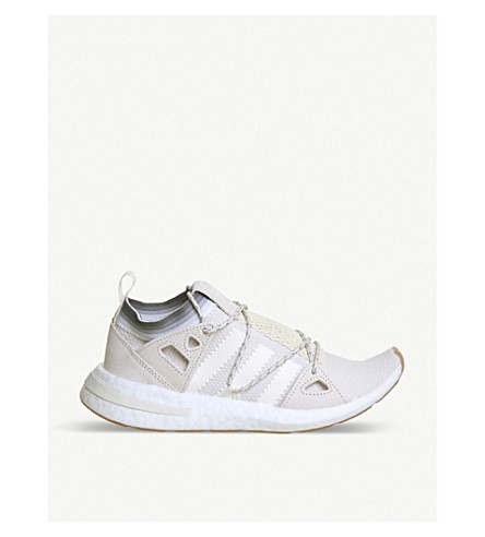ADIDAS Arkyn leather and mesh trainers (Universe+white+gum