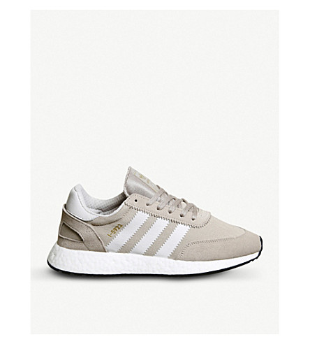ADIDAS I-5923 vapour grey chalk suede trainers (Vapour+grey+chalk