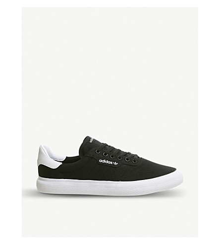 huge selection of d0543 46079 ADIDAS 3MC Vulc canvas trainers (Core+black+white