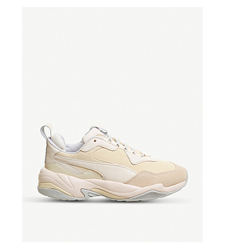 5cd1d703ad0d PUMA - Thunder Desert leather and suede trainers