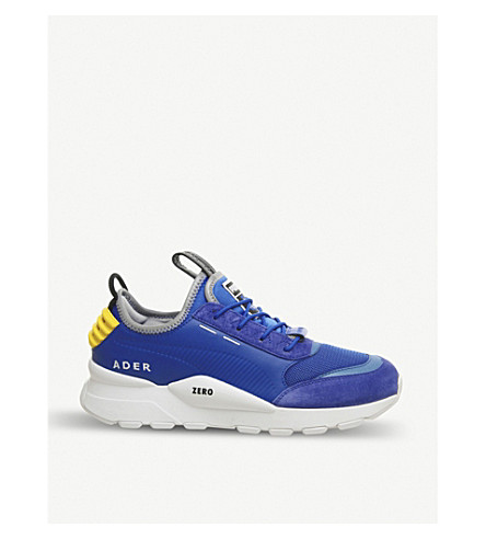 PUMA - Puma x Ader Error RS-0 leather, nubuck and mesh trainers ... b7d1e04943