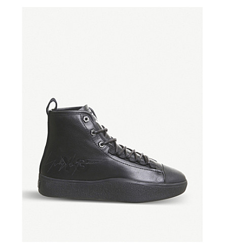 Bashyo 2 leather high-top trainers(726-10036-3218101339)