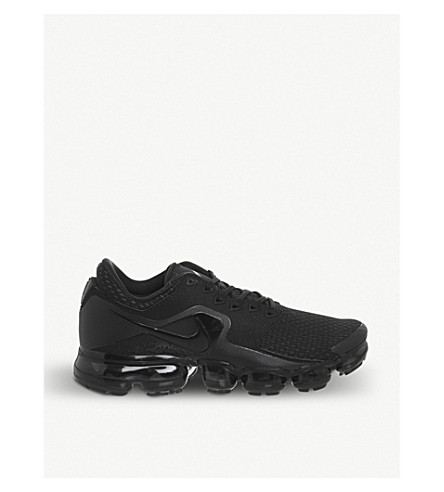 NIKE Air Vapormax Flyknit Utility trainers (Black+anthracite
