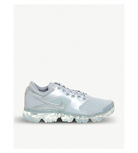 Air Vapormax mesh and metallic trainers
