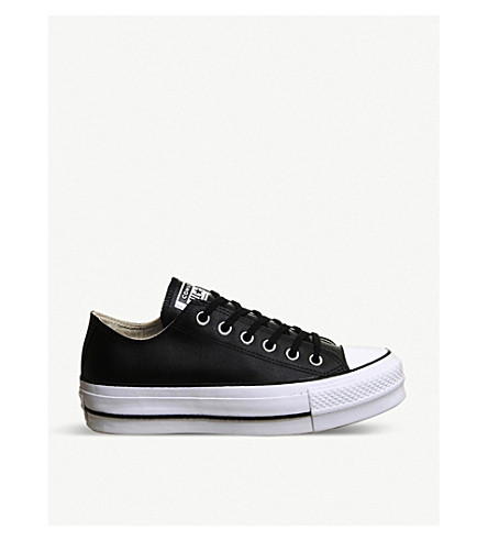 converse lift lether