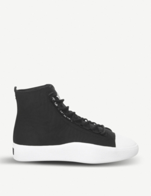 Bashyo leather and canvas trainers(7838480)