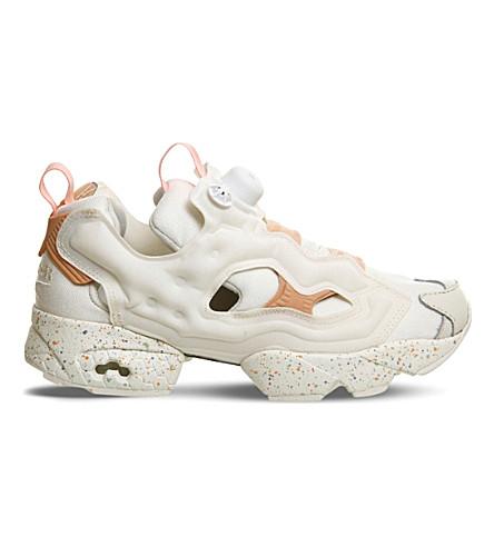REEBOK Insta Ballet flat Fury sneakers (Chalk desert stone