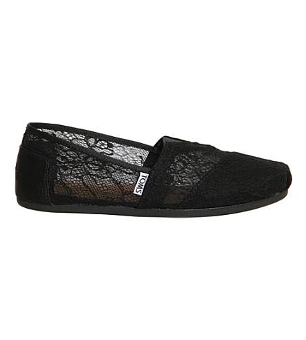 TOMS Classic lace shoes