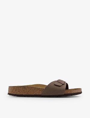 BIRKENSTOCK Madrid faux-leather sandals