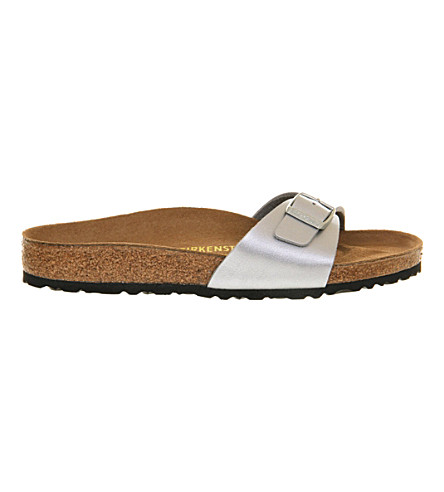 BIRKENSTOCK 马德里1穆勒鞋凉鞋 (银色