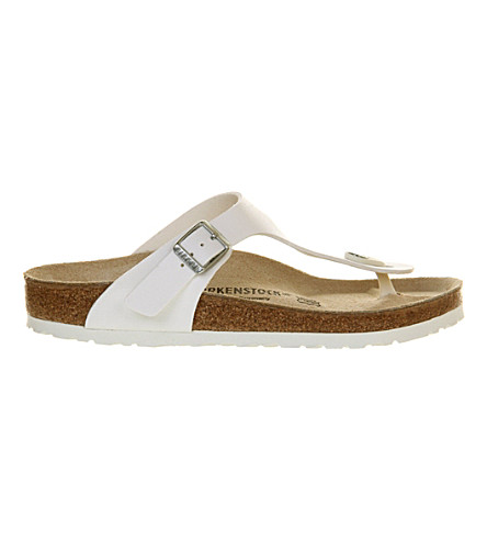 BIRKENSTOCK Ramses faux-leather sandals (White