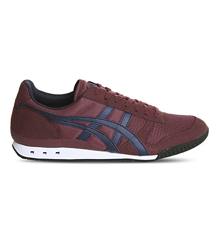 ONITSUKA TIGER Ultimate 81 mesh trainers (Burgundy+peacoat