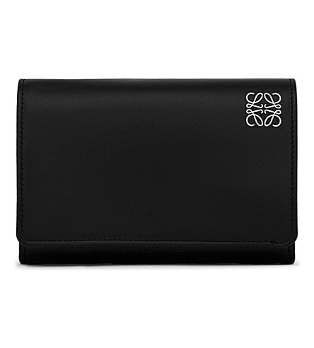 LOEWE Billford & coin purse (Black