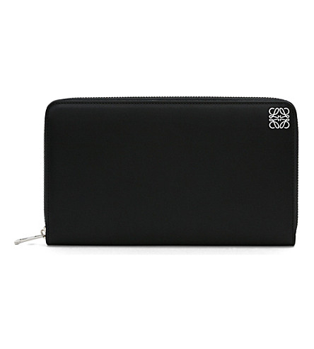 LOEWE Giant zip-around wallet (Black