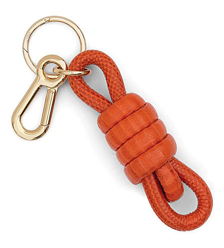 LOEWE Python knot keyring (Orange