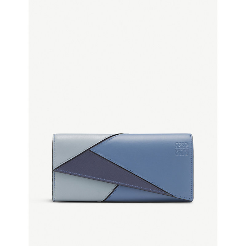 Puzzle continental wallet