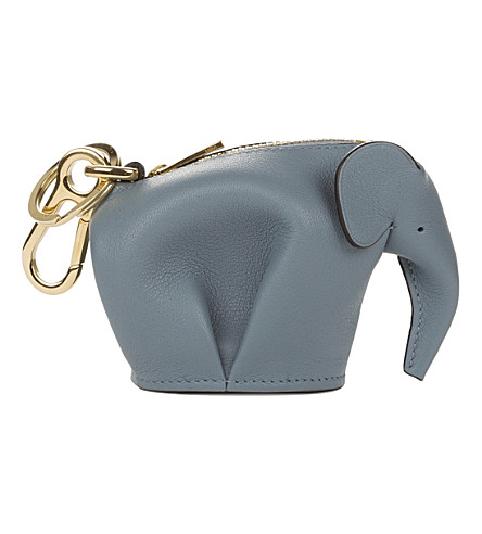 LOEWE 大象皮革魅力 (石头蓝色