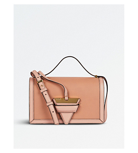 LOEWE Barcelona leather shoulder bag (Blush