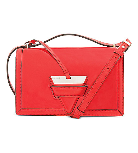 LOEWE Barcelona leather shoulder bag (Primary red