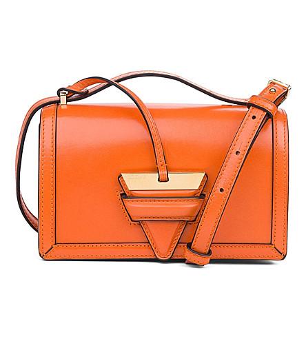 LOEWE Barcelona small leather shoulder bag (Orange