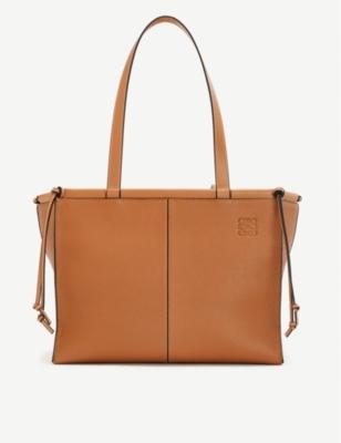 Cushion large leather tote bag(8320122)