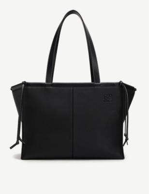 Cushion leather tote bag(8320094)