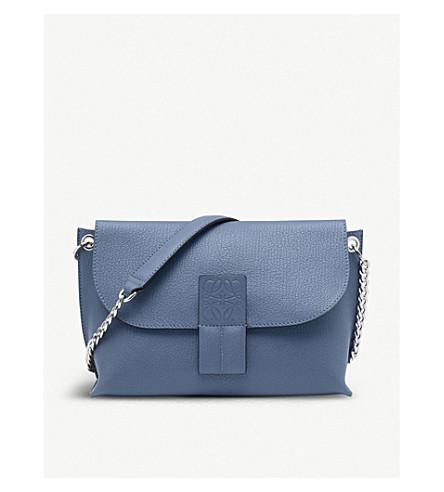 LOEWE b azul piedra cuero de bandolera Avenue Varsity rH0qrfS