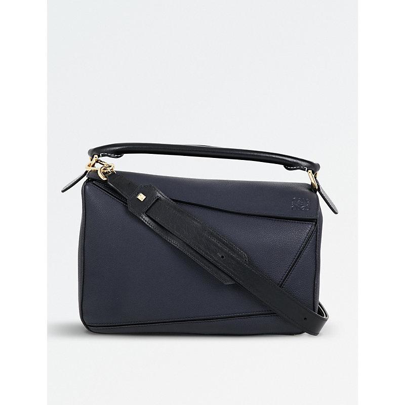 LOEWE | Puzzle Multi-Function Leather Bag | Goxip