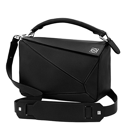 LOEWE Puzzle shoulder bag (Black