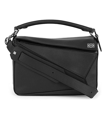 LOEWE Puzzle multi-function leather bag (Black