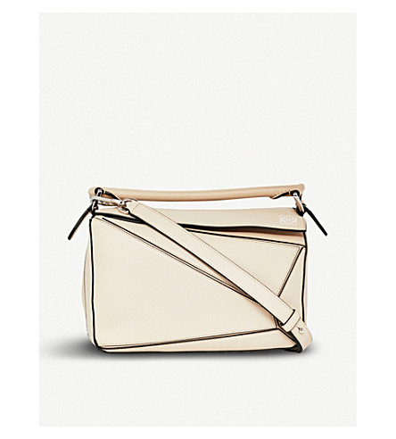 LOEWE Puzzle multi-function leather bag (Ash