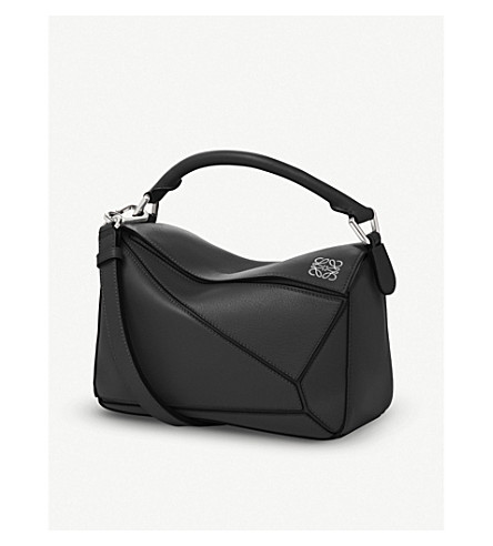 LOEWE Puzzle multi-function leather bag (Black
