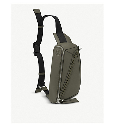 LOEWE - Puzzle leather sling bag   Selfridges.com ff1cbee46f