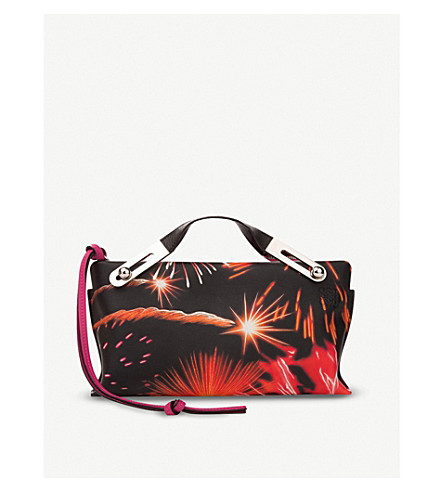 LOEWE Missy Fireworks leather bag (Multicolour