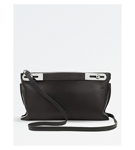 LOEWE Missy mini leather bag (Black