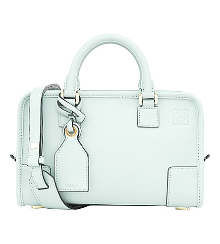 LOEWE Amazona 23 leather tote bag (Aqua