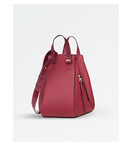 LOEWE Hammock leather bag (Rouge