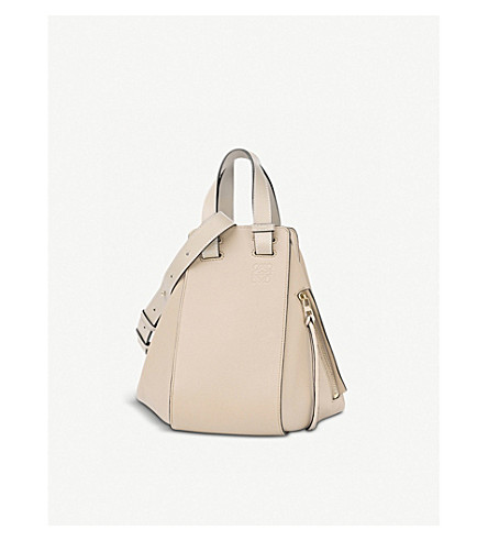 LOEWE Hammock small leather handbag (Ivory