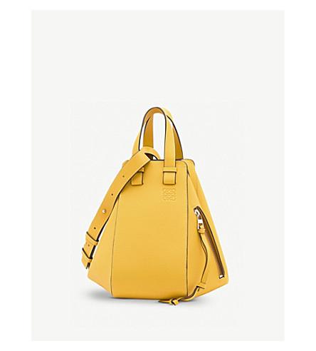 handbag Yellow Hammock varsity LOEWE LOEWE small Hammock mango leather wgYqXU