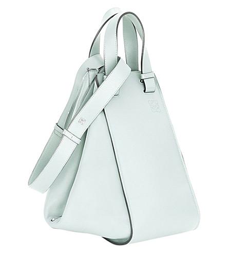 LOEWE Hammock leather bag (Aqua