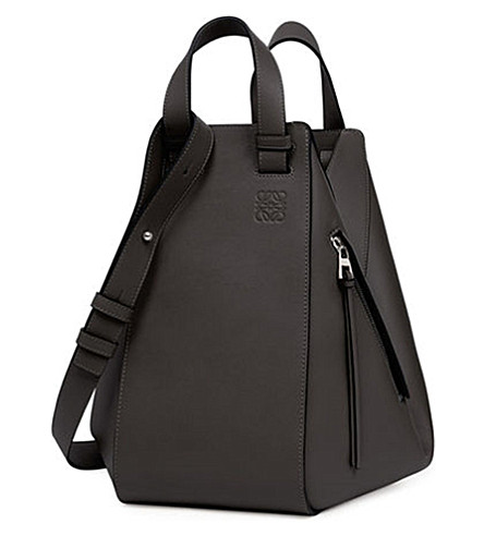 LOEWE Hammock leather bag (Black