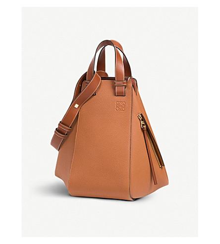 LOEWE Hammock leather bag (Tan