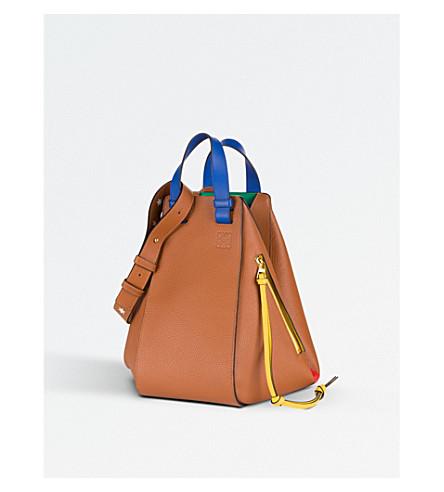 LOEWE Hammock star-detail small leather bag (Tan