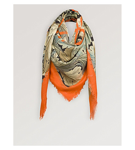 LOEWE Camo cashmere-blend scarf (Multicolour