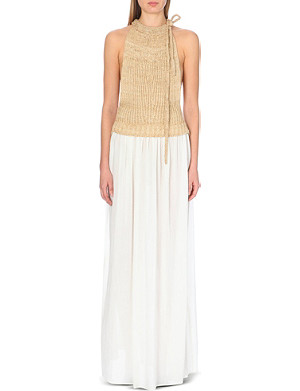 LOEWE Knitted halter-neck dress