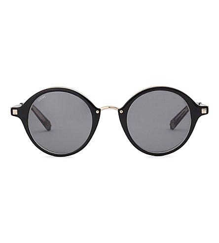 LOEWE SLW450M round-frame sunglasses (Black