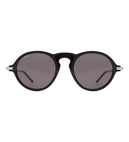 LOEWE Alcaufar round-frame sunglasses (Black