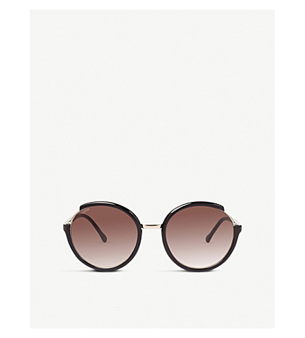 LOEWE Round-frame sunglasses (Black