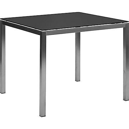 INDIAN OCEAN Lucerne dining table 90cm (Grey