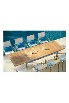 INDIAN OCEAN Claremont extending table outdoor dining set